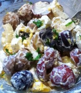 Lemon Basil Potato Salad