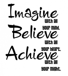 Imagine, Believe & Achieve 4 Week Cardio Challenge