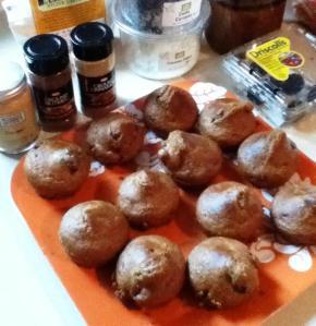 spiced  bran muffins