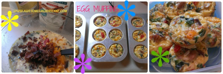 EGG MUFFIN COLLAGE
