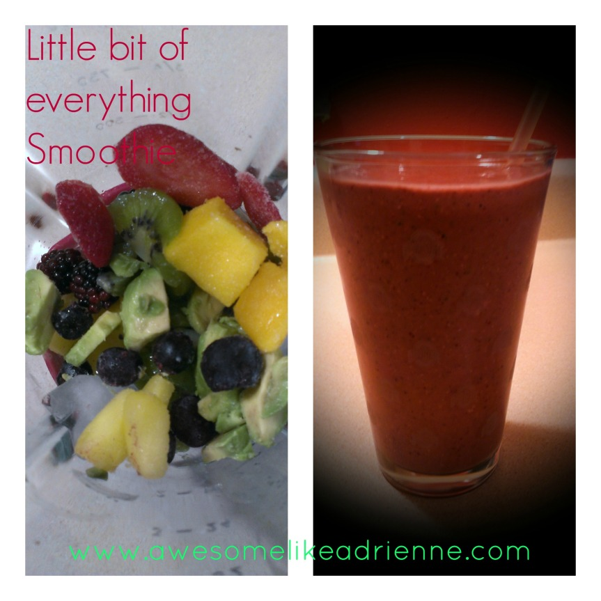 little bit of everythything smoothie Collage