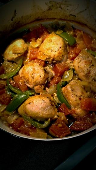 Chicken thigh dutch oven