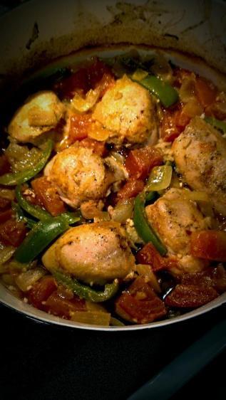 Chicken thigh dutch oven