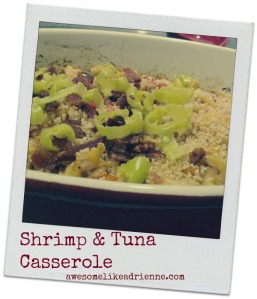 shrimp and tuna casserole