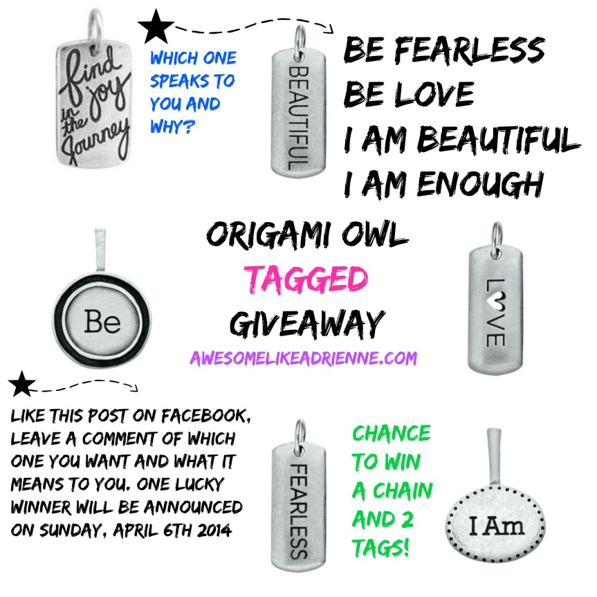 origami owl giveaway april 2014