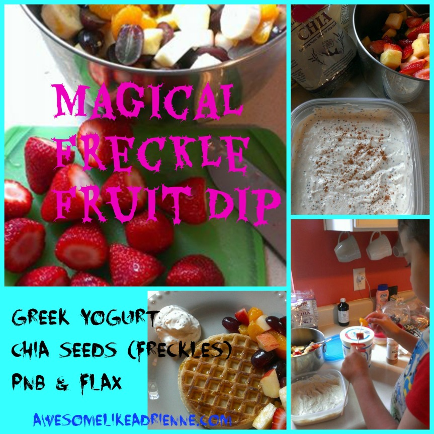 magical freckle fruit dip