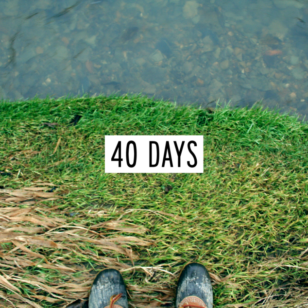What can you do in 40 days?