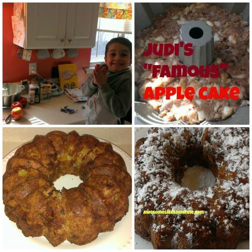 judis famous apple cake