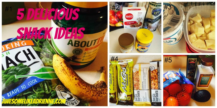 5 delicious snack ideas