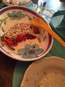 fresh greek pasta finished