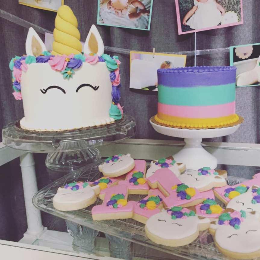 Charlotte's UNICORN 1st BirthdayParty