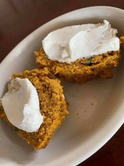 pumpkin muffins with ricotta
